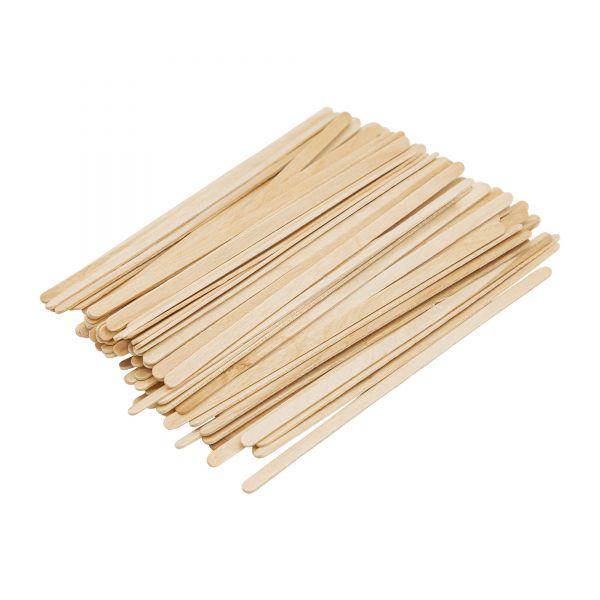 Spatel für Gesicht-Waxing | Holz | Augenbrauen filigran