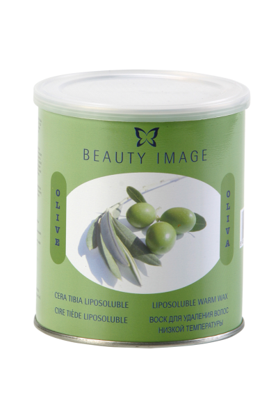 Warmwachs in Dose | Natur | Olive
