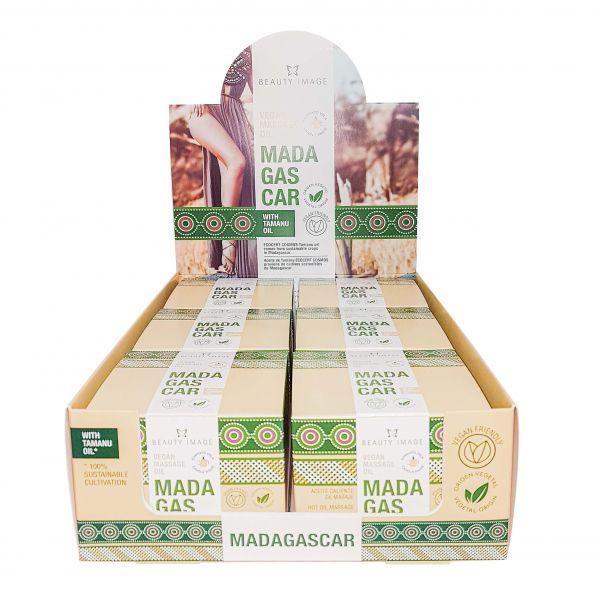 Paket: Kerzenset Öl-Massage Vegan | Madagascar 6 Stück.