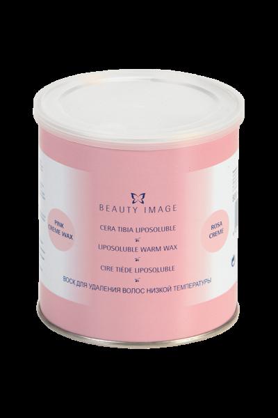 Warmwachs in Dose | Creme | pink (öllöslich)