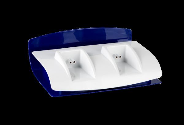 Profi-Basisstation für 2 Roll-On Wachserhitzer | blau